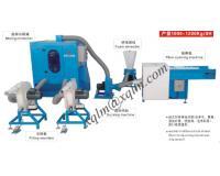 Fiber Carding & Cushion Filling Machine